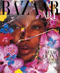 Naomi Campbell by Marc Quinn for Harper's Bazaar Russia Art