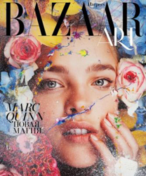Natalia Vodianova by Marc Quinn for Harper's Bazaar Russia Art