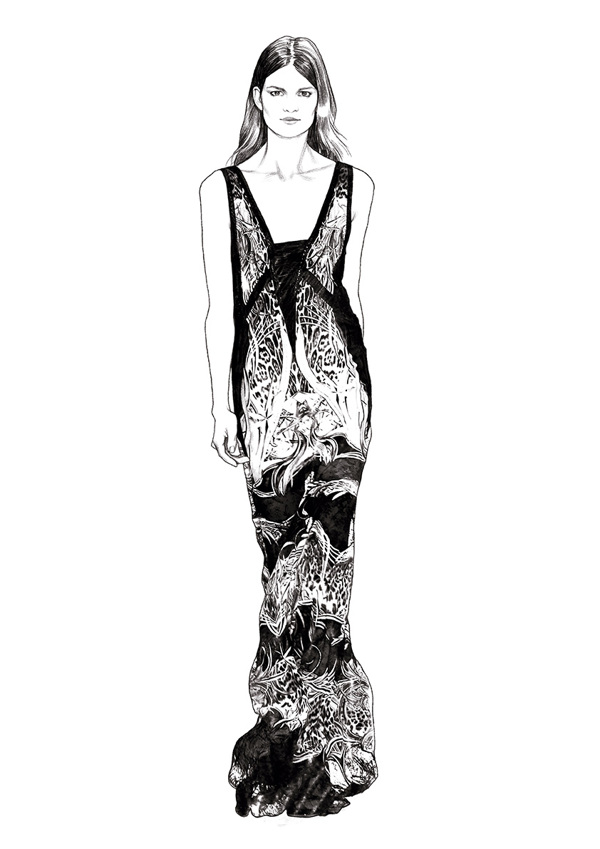 Odda Magazine - Illustrations Spring:Summer 2013 Looks Ignasi Monreal