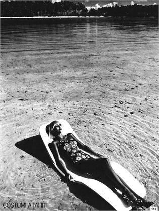 Photo by David Bailey 1976 Swimsuit Armonia Vogue Italia, May 1976