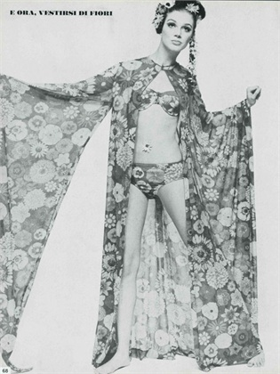 Photo by Eric Swayne 1967 Swimsuit Ken Scott Vogue Italia, April 1967