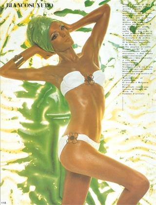 Photo by Gianpaolo Barbieri 1969 Swimsuit Annaspina Vogue Italia, May 1969