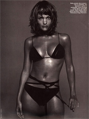 Photo by Michel Comte 1994 Swimsuit Paola Frani Vogue Italia, May 1994