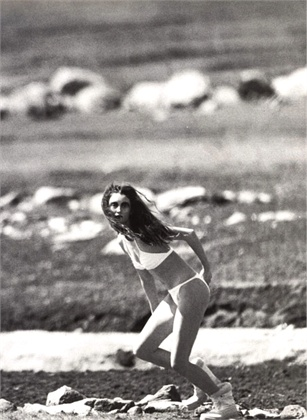 Photo by Steven Meisel 1997 Swimsuit Erès Vogue Italia, May 1997
