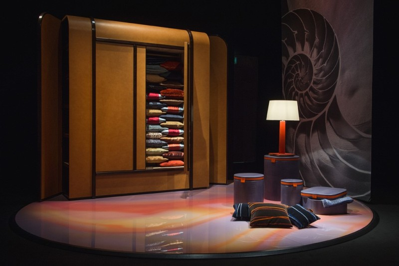 Pieces from the Armani:Casa collection.  Photo by Davide Maestri