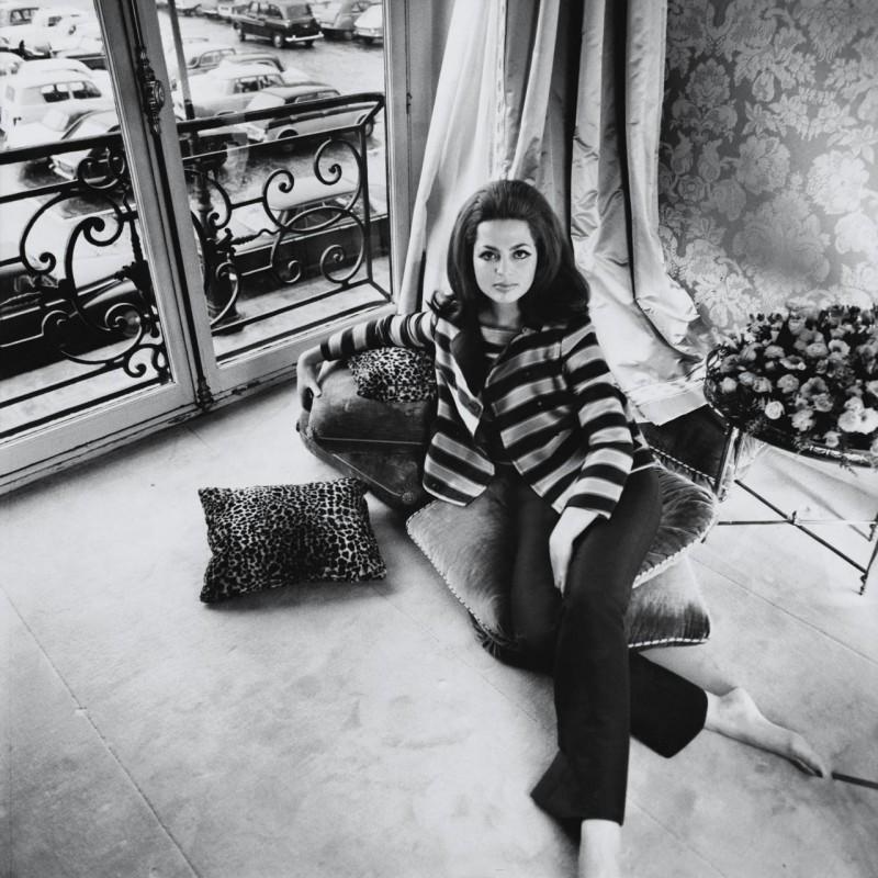 Princess Ira von Furstenberg in 1967. Photographed by Henry Clarke.