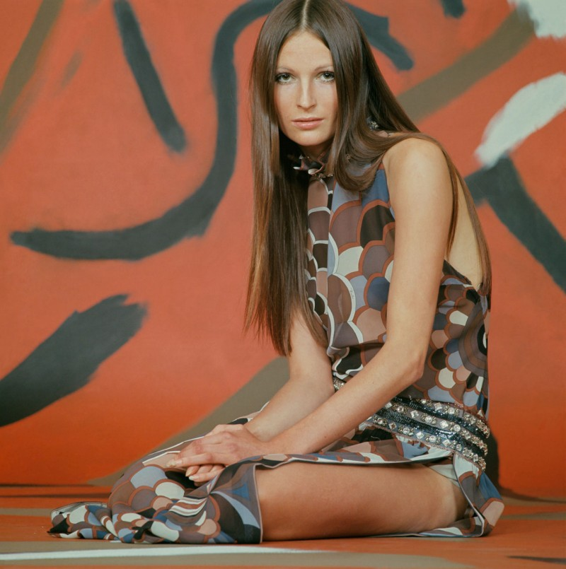 Pucci fever, circa 1970. Captured by Franco Rubartelli.