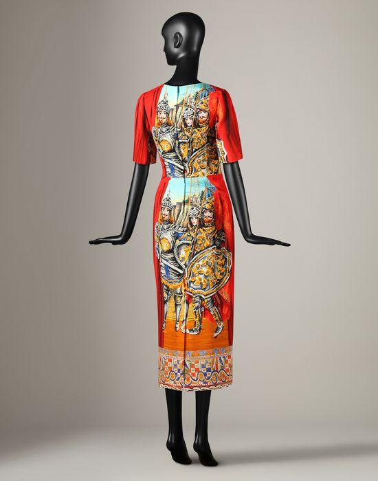 Pupi Print Midi Dress