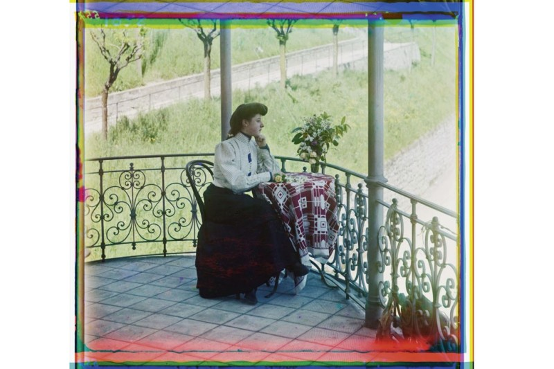 "Summer idyll, from the album ""Different Views and Studies of the Russian Empire.""Photo by Sergei Prokudin-Gorsky/Library of Congress, Prints & Photographs Division, Washington D.C."