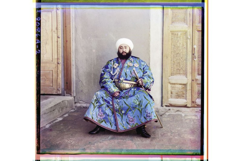 Alim Khan, the last emir of Bukhara, now part of Uzbekistan, in 1911.Photo by Sergei Prokudin-Gorsky/Library of Congress, Prints & Photographs Division, Washington D.C.