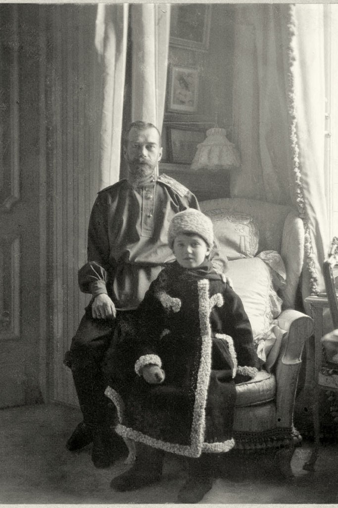 Tsar Nicholas II and Tsarevich AlexeiPhoto by Beinecke Rare Book and Manuscript Library, Yale University, New Haven, CT