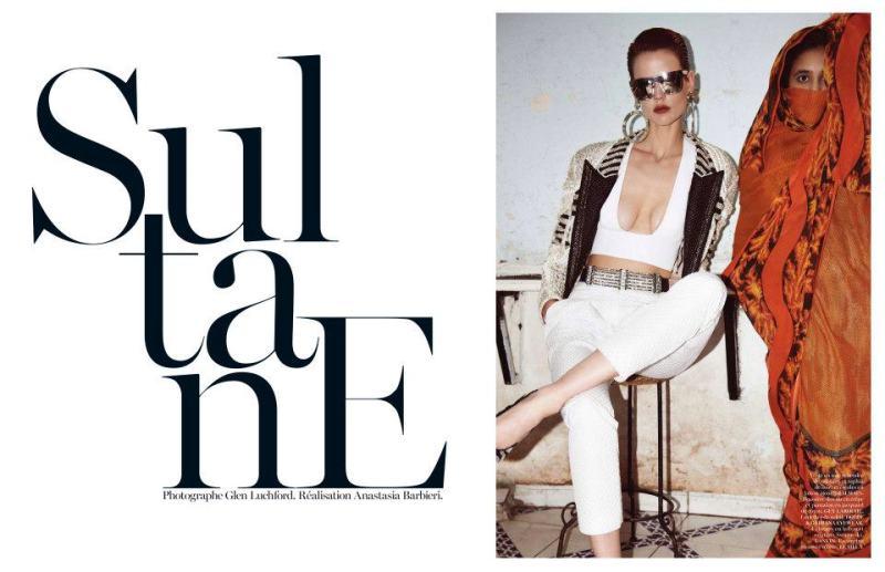 Saskia De Brauw By Glen Luchford For Vogue Paris May 2013