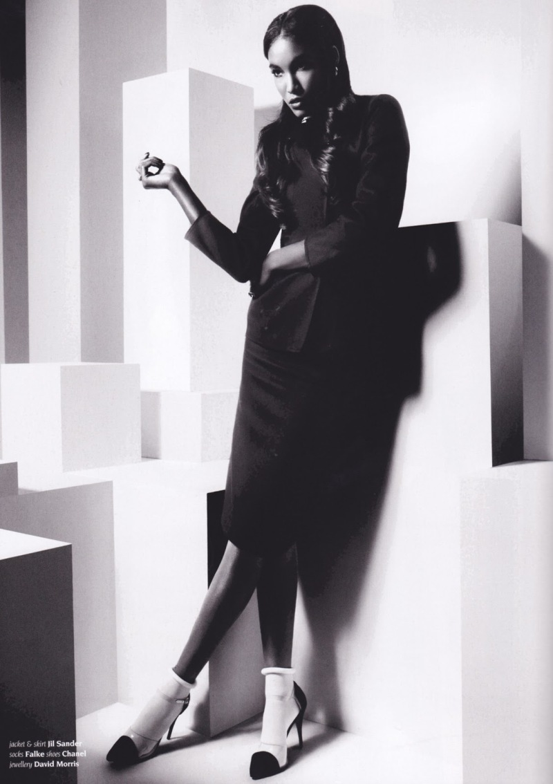 Sessilee Lopez by Rankin for Hunger spring/summer 2013