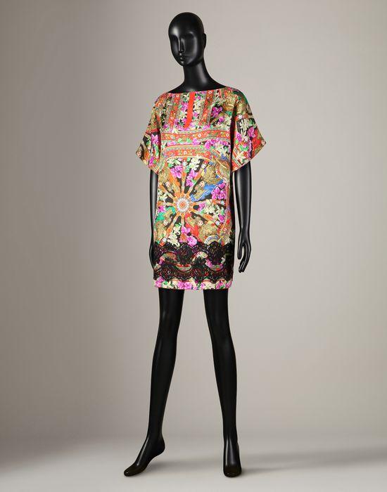 Sicilian Cart Print Dress
