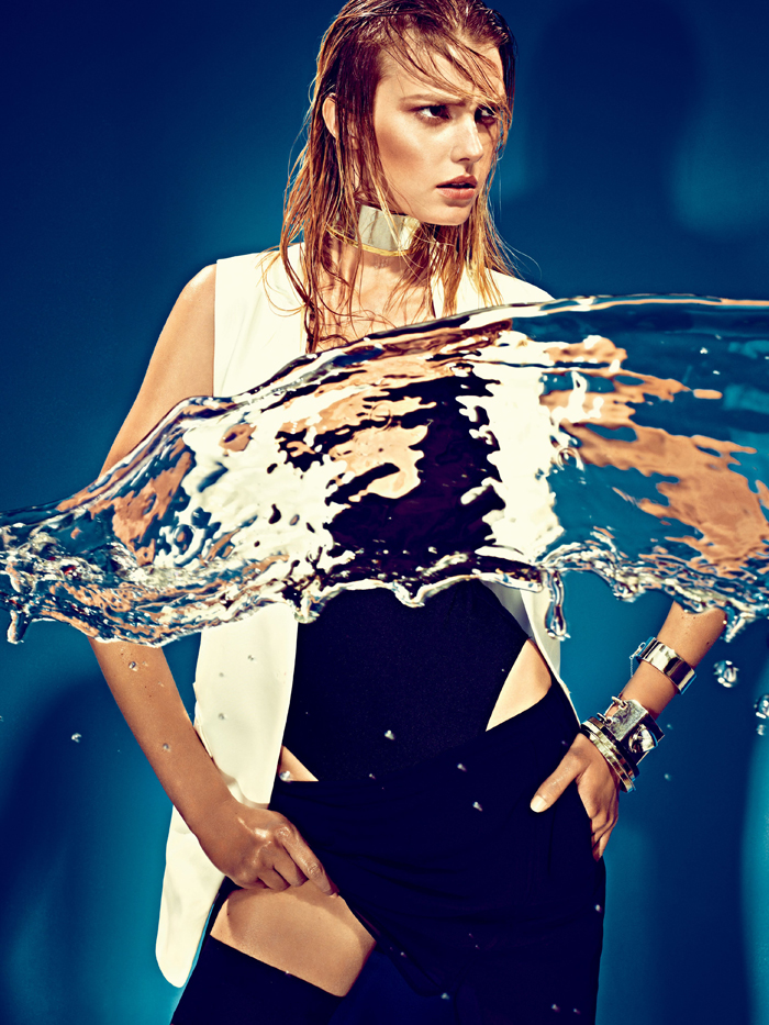 Sigrid Agren by Alexi Lubomirski for W Korea May 2013