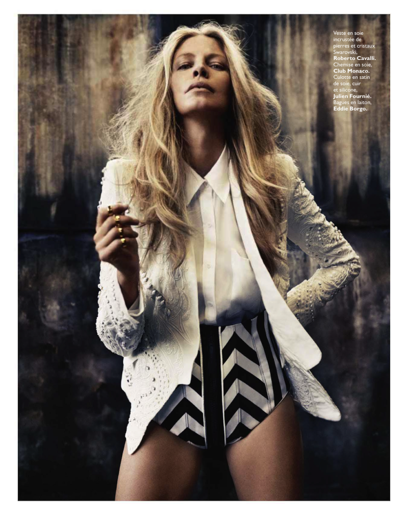 Tanga Moreau By Honor Akrawi For Grazia France 26Th April 2013