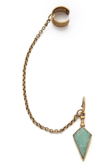 The jhumka-inspired ear cuff by A Peace Treaty Image: Shopbop.com