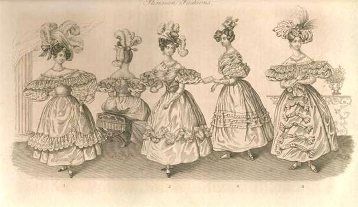 The lady's magazine April, 1831