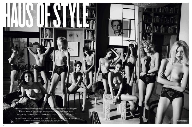 V Magazine : Haus Of Style