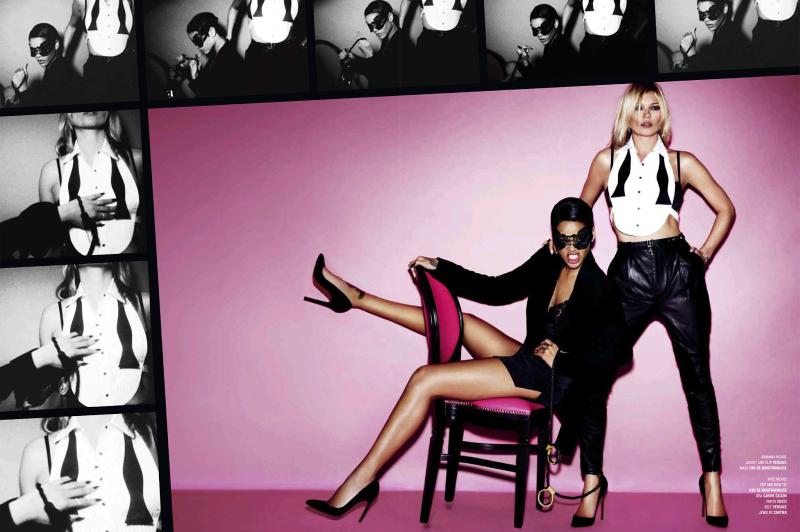 V Magazine : Only Girls In The World