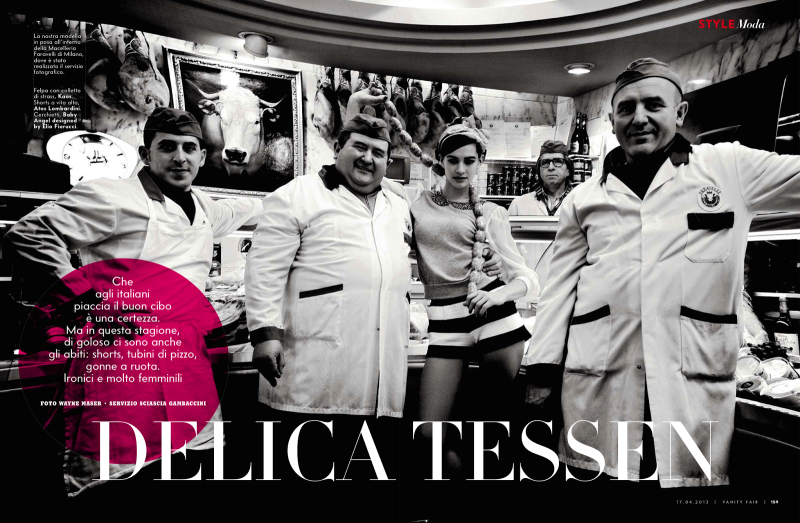 Vanity Fair Italia : Delicatessen