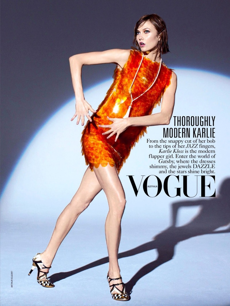 Vogue Australia : The Flapper Wears Prada