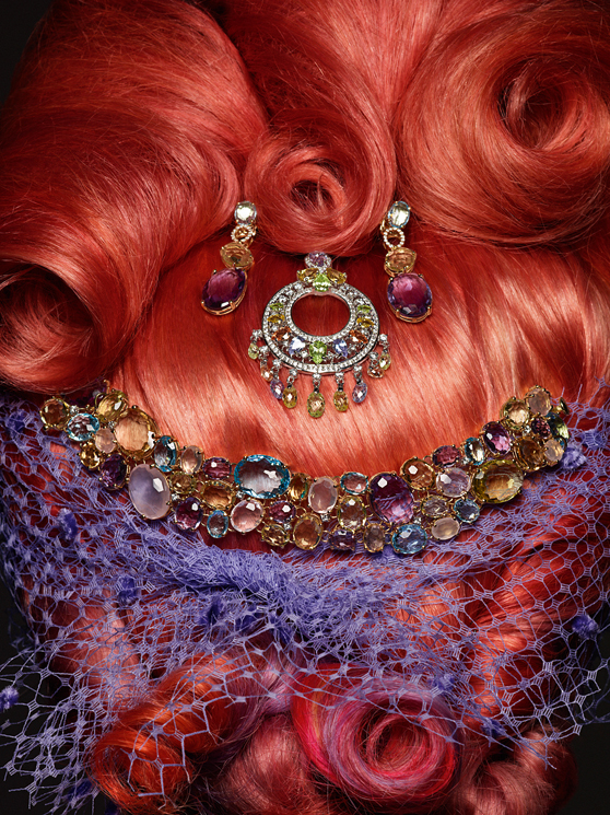 Vogue Gioiello : Beauty and the Jewels