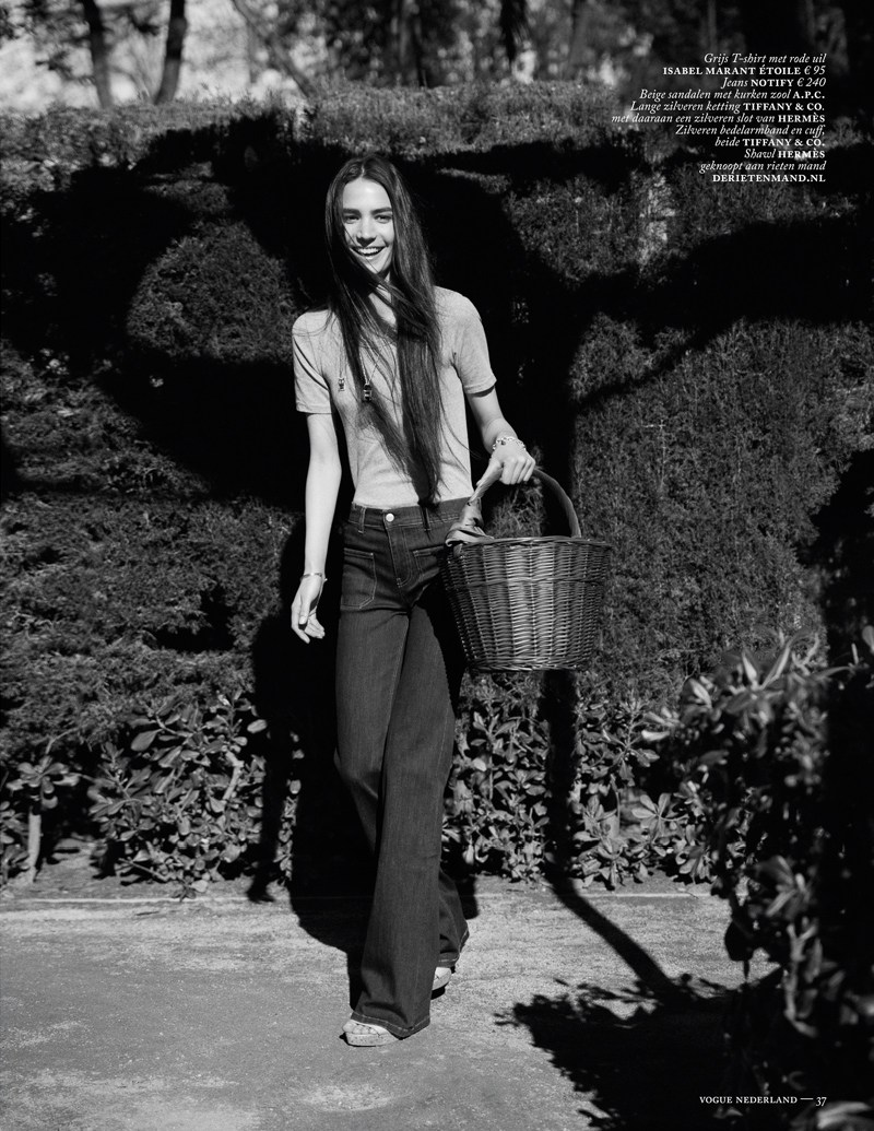Vogue Netherlands : Birkin's Back