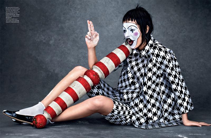 Vogue Netherlands : La Pierette Joyeuse