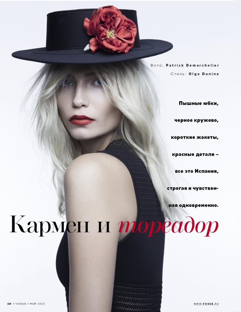 Vogue Russia : Carmen And Toreador