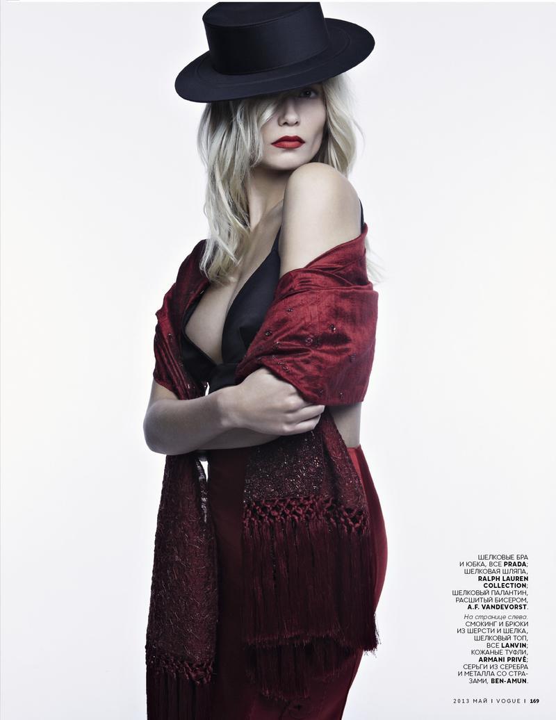 Vogue Russia : Carmen And Toreador