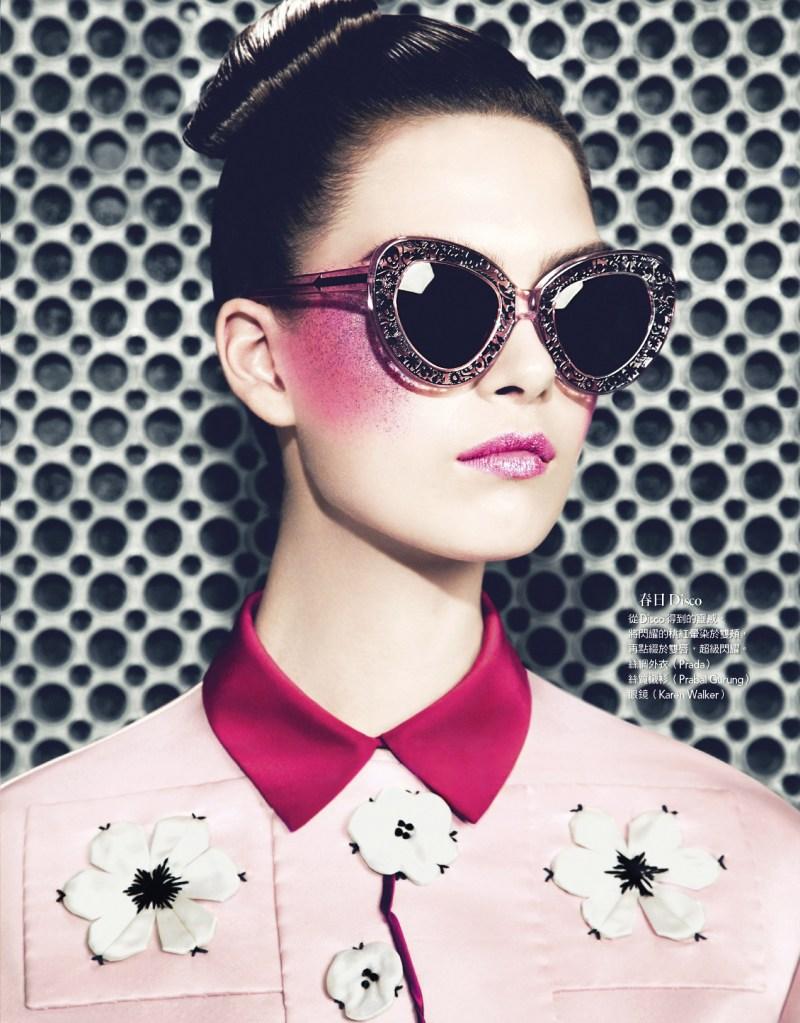Vogue Thailand : Beauty Pointillism