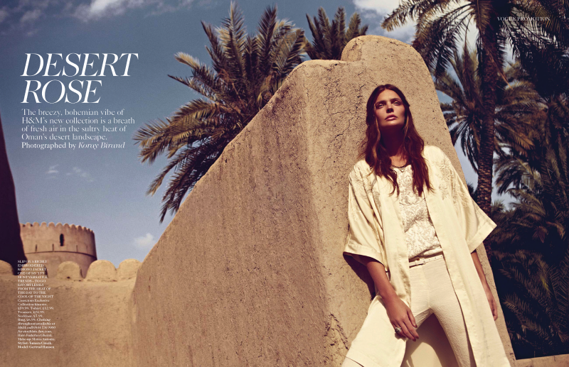 Vogue UK : Desert Rose