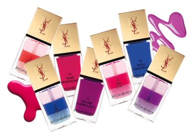 YSL's Tie-Dyed Nails