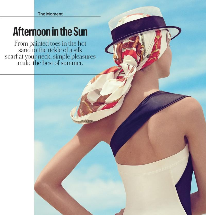 Afternoon in the sun by Benjamin Alexander Huseby for The New York Times Style Magazine