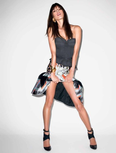 Alessandra Ambrosio by Terry Richardson for Harper's Bazaar Brazil June 2013
