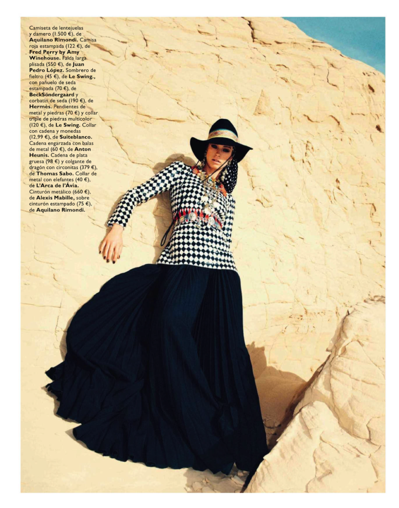 Alice Cornish By Marco Pietracupa For Grazia Spain 1St May 2013