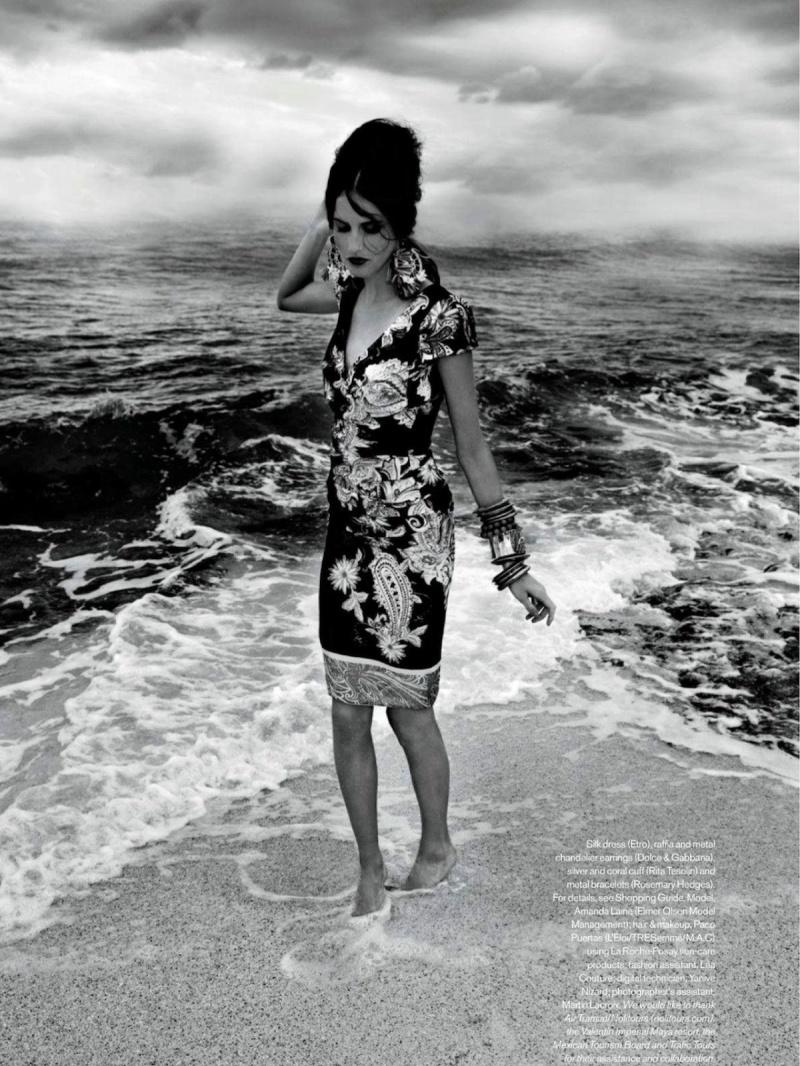 Amanda Laine By Leda & St.Jacques For Elle Canada June 2013