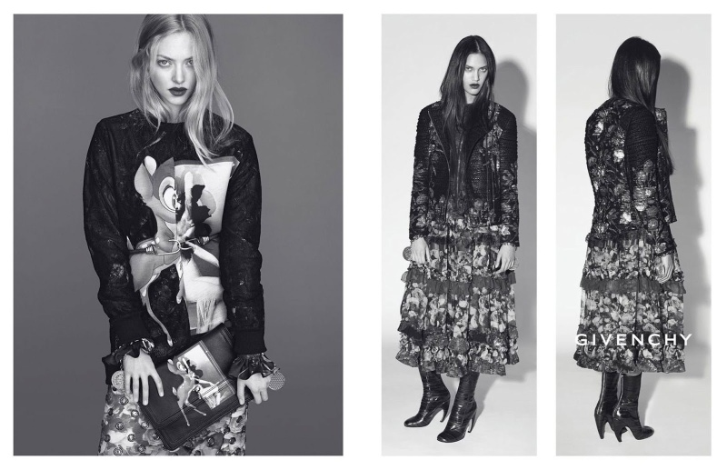 Amanda Seyfried and Dalianah Arekion by Mert & Marcus for Givenchy Fall 2013 Ad Campaign