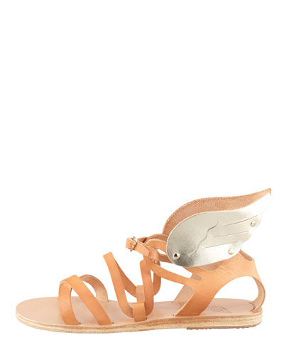 ANCIENT GREEK SANDALS Nephele Winged Strappy Sandal
