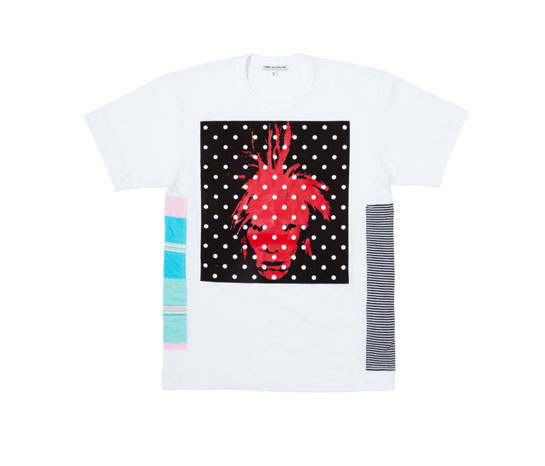 Andy Warhol x Comme des Garçons, t-shirt,126 euros.