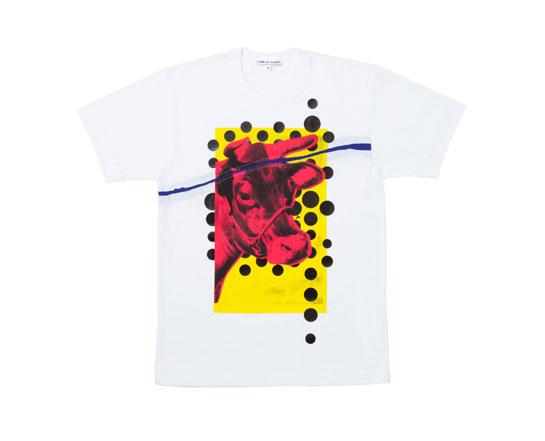 Andy Warhol x Comme des Garçons,t-shirt, 131 euros.