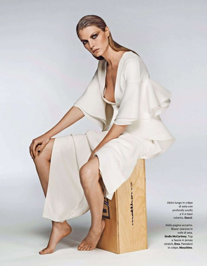 Angela Lindvall by Driu & Thiago for Amica June 2013
