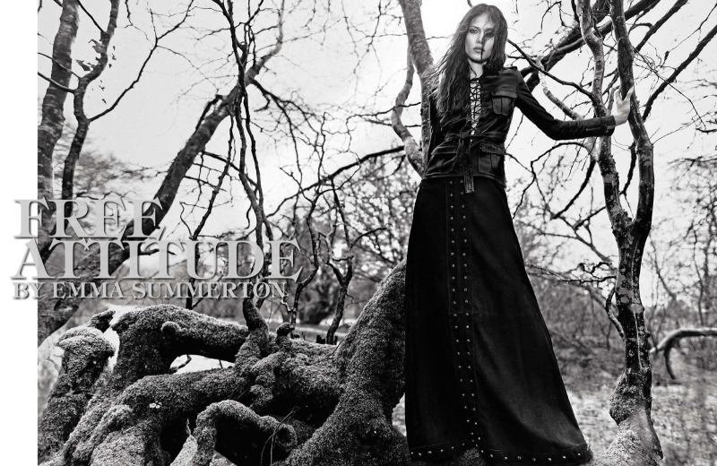 Aymeline Valade By Emma Summerton For Vogue Italia May 2013