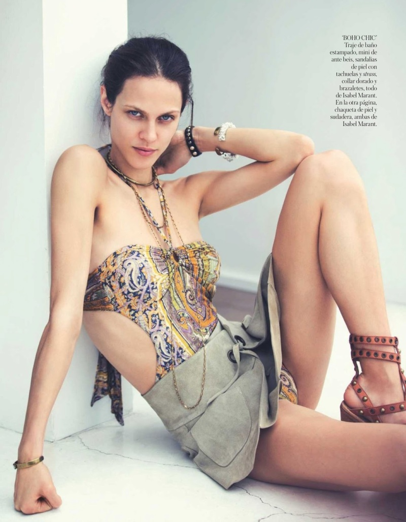 Aymeline Valade & Isabel Marant by David Bellemere for Vogue Spain June 2013