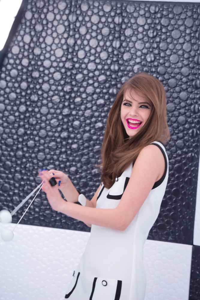 Barbara Palvin For L'Oreal Miss Pop Collection Summer 2013