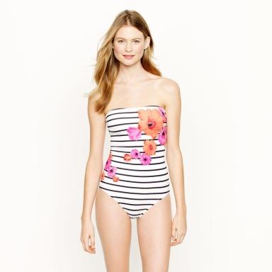 Behati Prinsloo For J Crew Swimwear Summer 2013 Collection