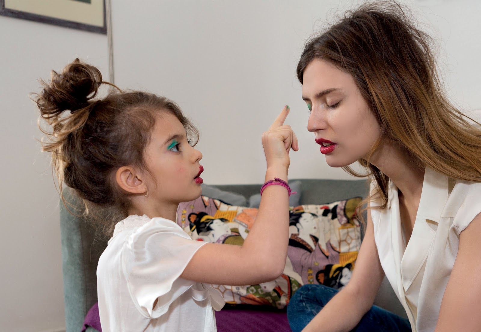 Bianca Balti And Matilde Lucidi By Martin Parr For Grey #8 ...