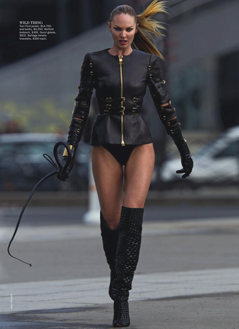 Candice Swanepoel by Hans Feurer for Vogue Australia June 2013