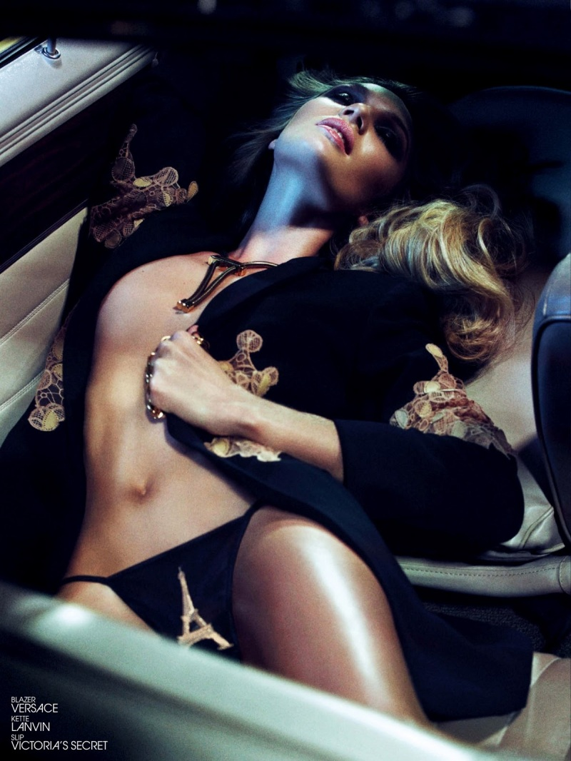 Candice Swanepoel by Sharif Hamza for Interview Germany June 2013